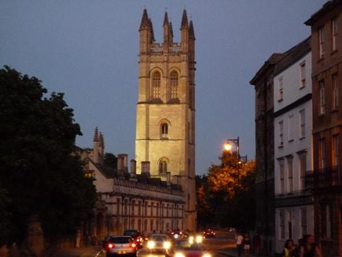 Magdalen Tower down High Street