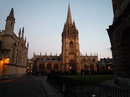 University Church Evening
