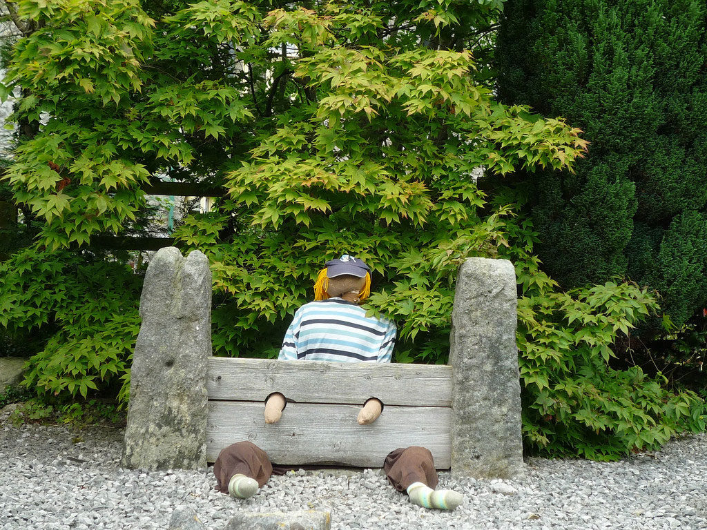 village-stocks-scarecrows